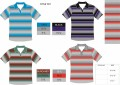 1911 SHORT SLEEVE STRIPE POLO
