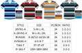 Stripe V Neck 16VN1