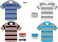 1923 SHORT SLEEVE STRIPE POLO