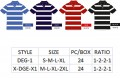 Stripe Polo DEG1